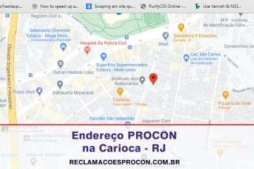 PROCON Carioca no Rio de Janeiro