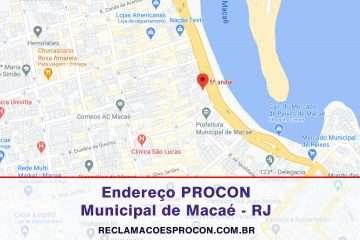 PROCON MACAÉ no Rio de Janeiro