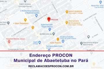 PROCON Municipal de Abaetetuba no Pará