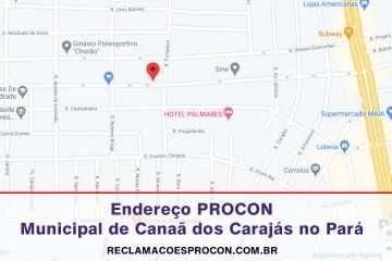 PROCON Municipal de Canaã dos Carajás no estado do Pará