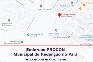 PROCON Municipal de Redenção no Pará