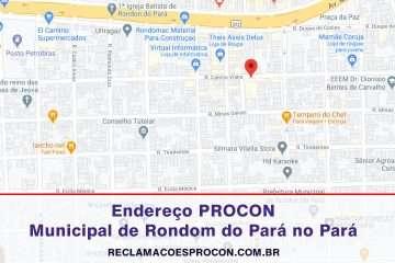 PROCON Municipal de Rondon do Pará no Pará