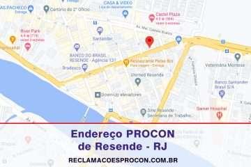 PROCON Municipal de Procon Municipal de Resende no Rio de Janeiro