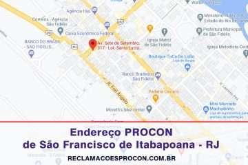 Procon de São Francisco de Itabapoana