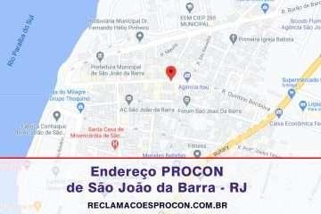 Procon Municipal de São JOÃO da Barra