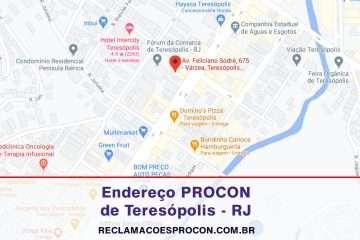 PROCON Municipal de Procon Municipal de Teresópolis no Rio de Janeiro